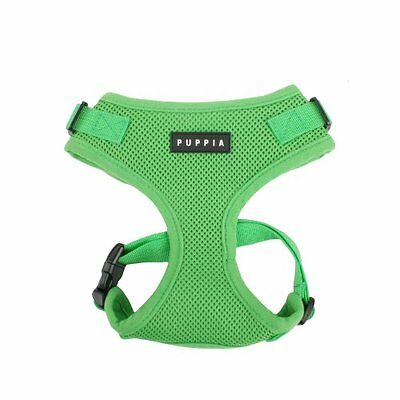 Puppia Ritefit Harness, medium, verde