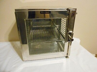 Vintage Fisher Scientific Medical Laboratory Display Cabinet with Shelf
