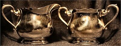 Fisher Sterling Silver Sugar & Creamer