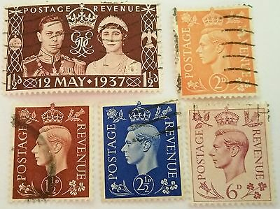 Great  Britain 1937-1939  Used Stamp ....worldwide Stamp
