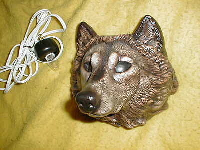 Windstone Editions Wolf Candlelamp