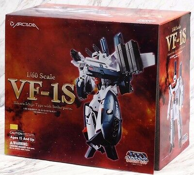 ARCADIA 1/60 MISB Macross VF-1S Strike Valkyrie Hikaru Ichijo Type Movie Version