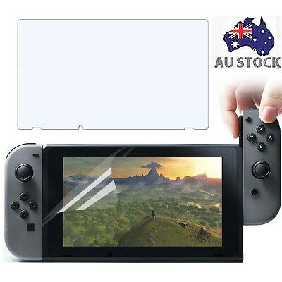 TPU Screen Protector Clear Protective Film For Nintendo Switch