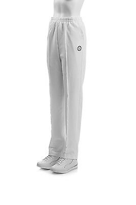 Drakes Pride Mens Bowls Sports Trousers White or Grey