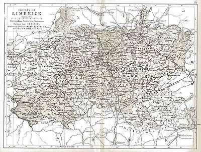 Map of County Limerick, dated 1897.