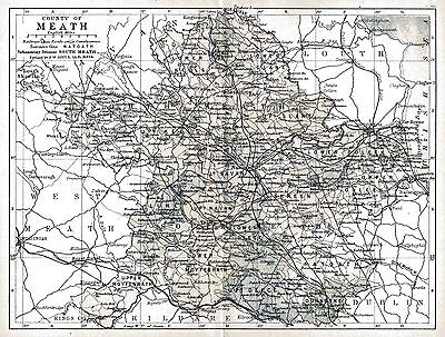 Map of County Meath, dated 1897.