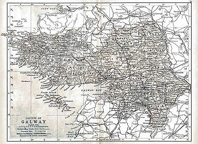 Map of County Galway, dated 1897.