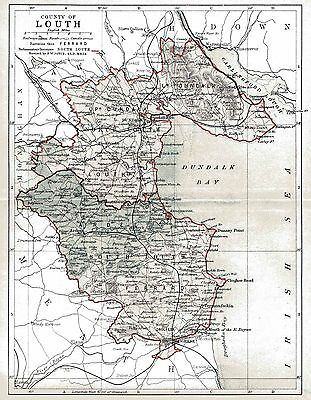 Map of County Louth, dated 1897.