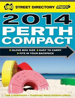 Perth Compact Street Directory 7th 2014 by UBD Gregorys FREE Postage