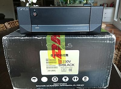 Cyrus 8 power amplifier amp mono or stereo RRP $2,300 audio