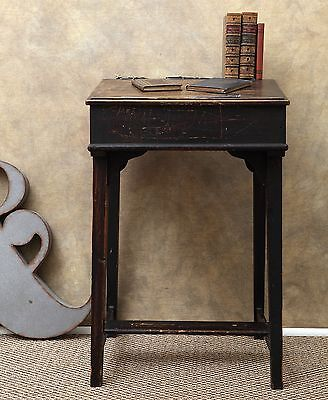 A Great Quirky Vintage Old School Desk with Lovely Original Untouched Finish