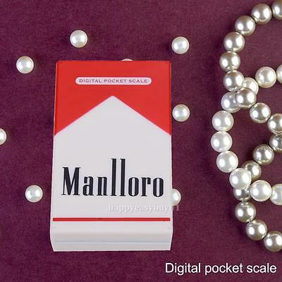 Cigarette Case Digital Scale Mini Pocket 200g/0.01g Diamond Jewelry Weight Gram