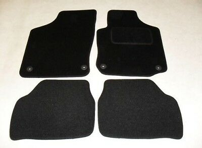 Vauxhall Corsa C 2000-06 Fully Tailored Car Mats in Black.