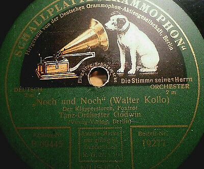 "PAUL GODWIN ""March of the Mannikins / Noch und Noch (Der Klapperstorch)"" 78rpm"