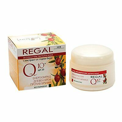 Energizing Anti Wrinkle Day Cream Rich in Coenzyme Q10 & Goji Berry Extract *
