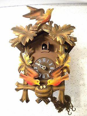 Cuckoo Clock Marked Made in West Germany for Parts or Repair