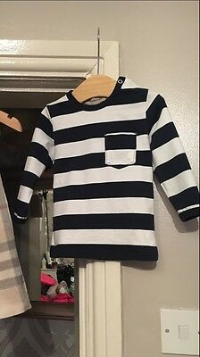 baby boy Burberry top Age 12m