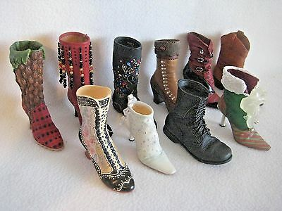 Just The Right Shoe By Raine Boot Lot  Of 10