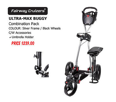 GOLF BUGGY ULTRA-MAX SILVER FRAME Combination Pack 1