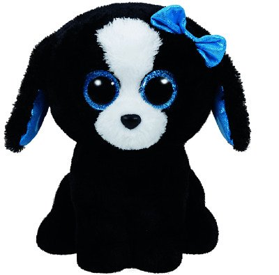 NEW Tracey the Black Dog (Medium) - TY Beanie Boos from Purple Turtle Toys