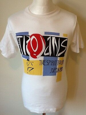 The Trojans Ska Band Vintage 1988 Tour Tee Shirt