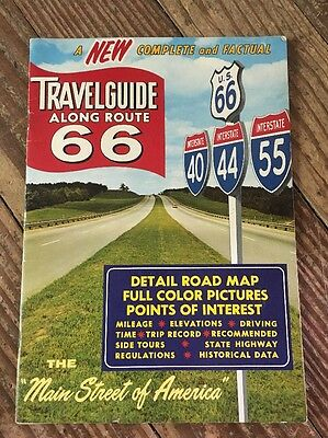 """Travel guide Along Route 66 """"Main Street Of America"""""""