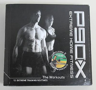 P90X Extreme Home Fitness with Tony Horton Complete 13 DVD Set