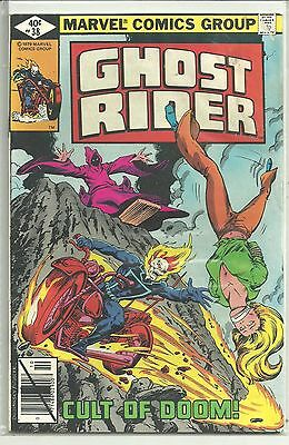 GHOST RIDER # 38 Bronze Age 1979 CULT OF DOOM HIGH Grade VF / NM HUGE SALE !