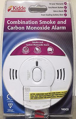 Kidde Combination Fire Smoke And Carbon Monoxide Voice Alarm 10SCO - BRAND NEW