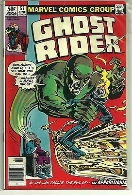 GHOST RIDER # 57 Bronze Age 1981 THE APPARITION  HIGH GRADE VF / NM