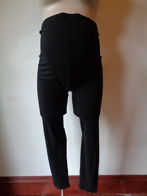 Atmosphere Maternity Black Over Bump Cropped Leggings Size 14