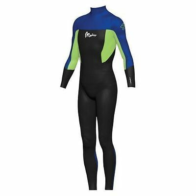Maddog Boys Superstretch Steamer 3/2mm Wetsuits - Blue (Size 08)
