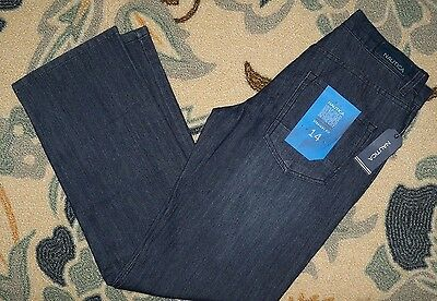 Nwt~Boys Sz.14 Nautica dark denim straight fit blue Jeans~$39