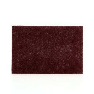 """never pay shipping (20 PADS) 6""""X9"""" 3M 04029 SCOTCH-BRITE MAROON HAND PAD 7447"""