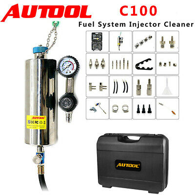Autool C100 Non-Dismantle Fuel System Injector Cleaner For Petrol EFI Throttle