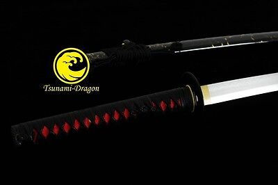 Clay Tempered Japanese Top Folded Steel  Katana Sword Battle Ready Full Tang New