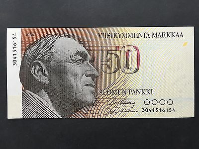 Finland 50 Markkaa P114 Dated 1986 Uncirculated UNC