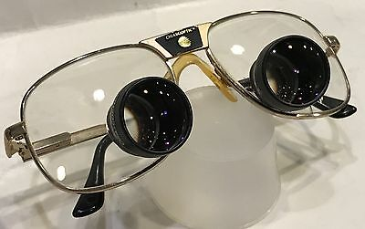 Orascoptic Dental Loupes Glasses 140 Gold 55/18 Very Good