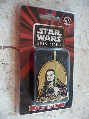Star Wars Episode 1 Collectible Pin - Qui-Gon-Jinn, NIB