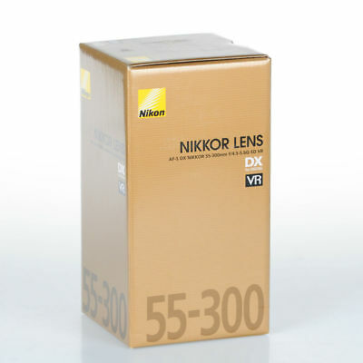 Nikon AF-S DX NIKKOR 55-300mm f/4.5-5.6G ED VR Obiettivo +cleaning kit