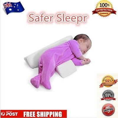 Baby Infant Sleeping Pillow Support Wedge Adjustable Memory Foam Organic Cotton