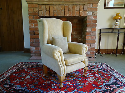 Beautiful Georgian Revival Children's Child's Upholstered Wing Armchair