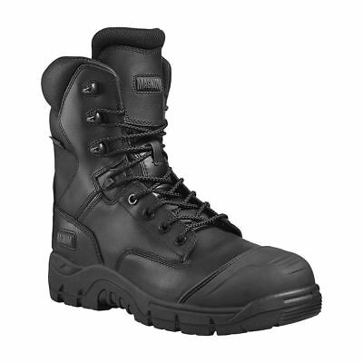 Magnum Rigmaster S3 black Waterproof Side Zip safety boot & midsole size 6-13