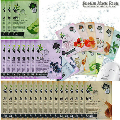 3/8/16 PCS NEW Ultra Hydrating Essence Mask Sheet Pack Korea Skin Care Cosmetic