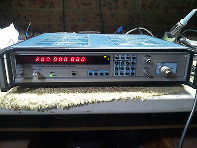 Model 575 Source Locking Microwwave Counter with Power Meter
