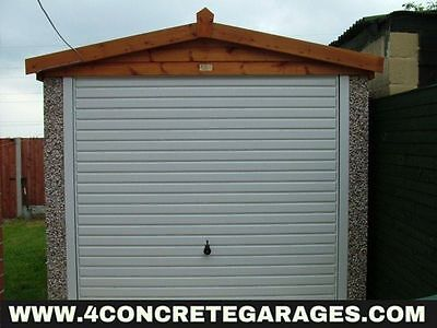 Apex Concrete Garage 8ft6in x 18ft3in installed *conditions apply £2,030