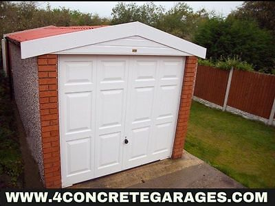 Deluxe Spar Apex Garage 8ft6in x 18ft3in installed *conditions apply £2,948