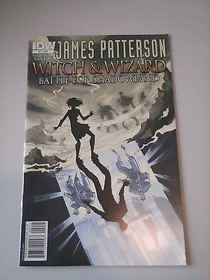 James Patterson Witch and Wizard Battle for Shadowland Issue 2