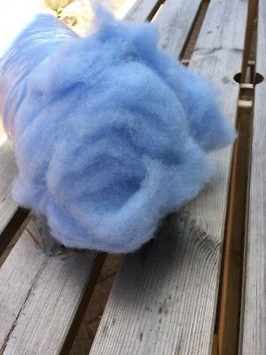 Uk Wool Fluff Poser Layer Photo Photography prop Newborn Baby Blue