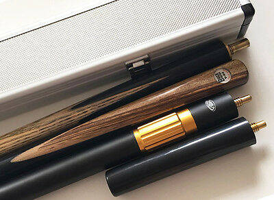Professional 3/4 Joint Snooker Cue 3 Piece Pool Cue Case Ash Wooden Snooker Cues